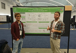 Two posters at NeurIPS